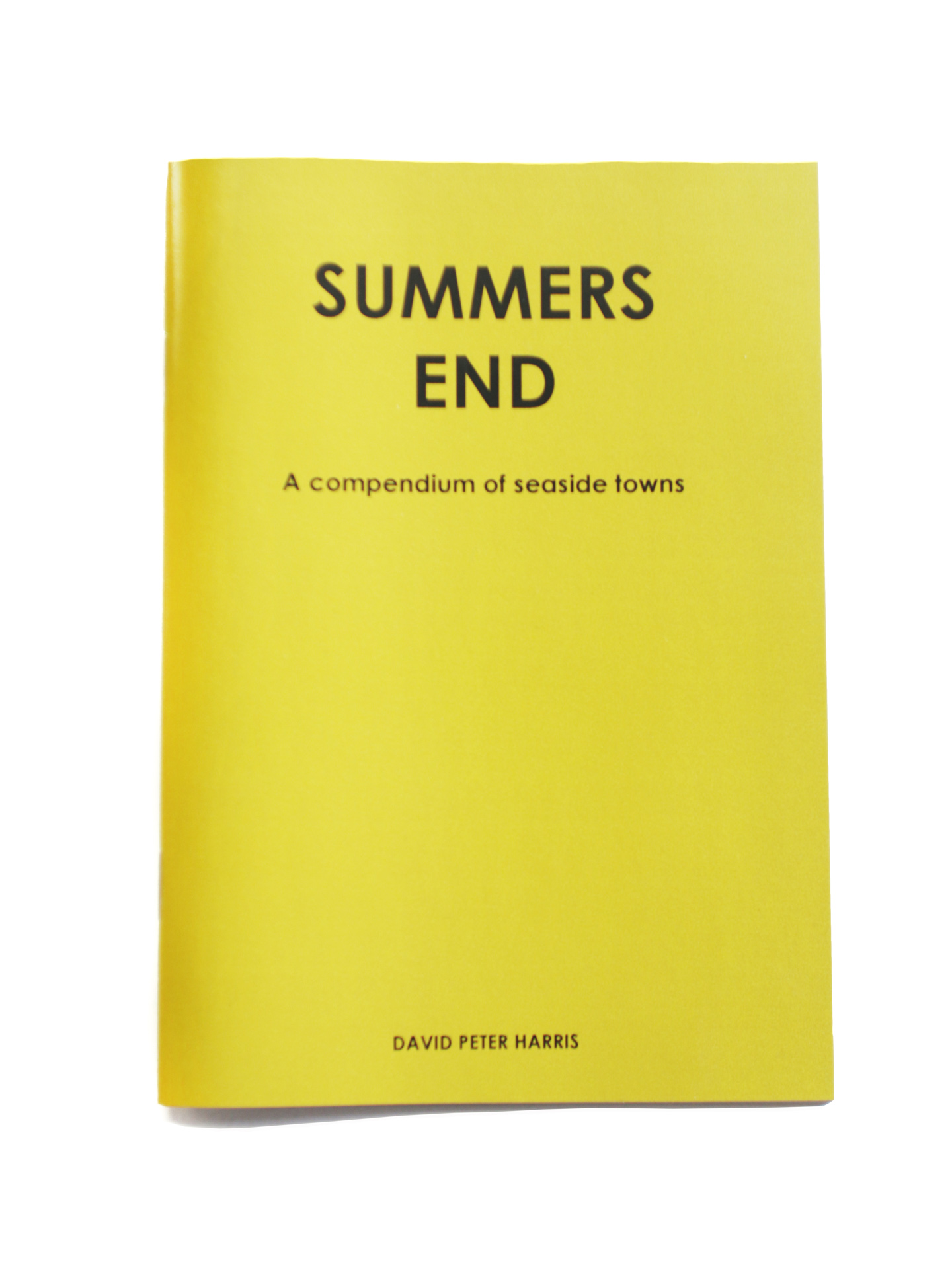 Zine 03- Summers End by David Pieter Harris